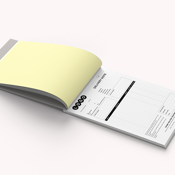 A4 NCR pad 2 part