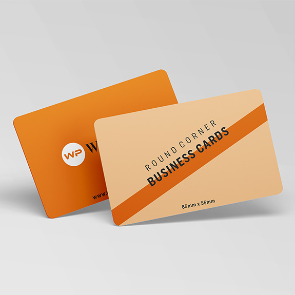 Classic Rounded Corner Business Cards