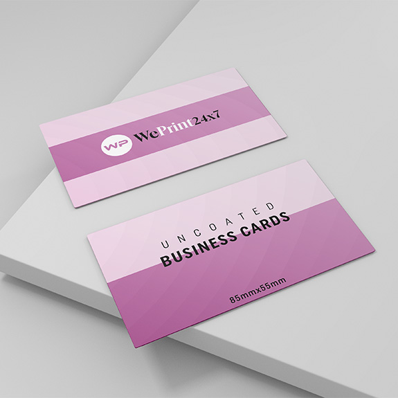 Un-coated Business Cards